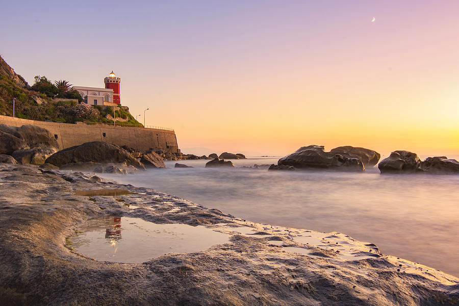 Sunset Photograph - Lighthouse by Fabio Scrima