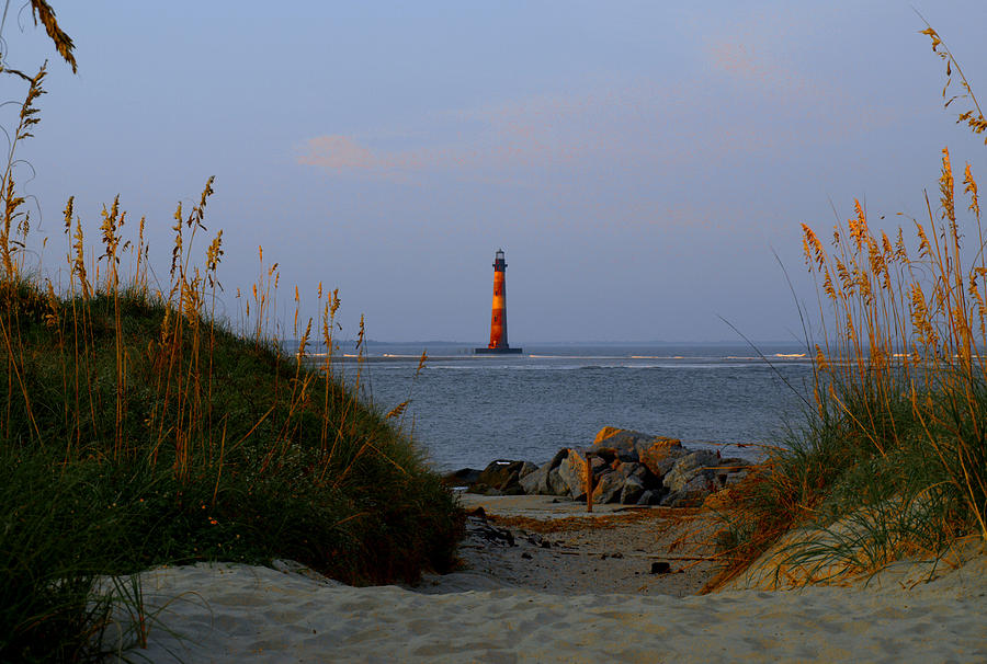 Lighthouse Photograph - Lighthouse by Heidi Berkovitz
