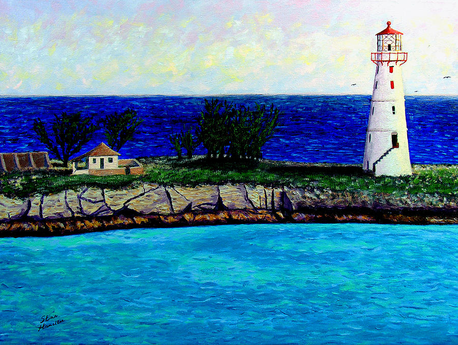 Lighthouse Painting - Lighthouse IIi by Stan Hamilton