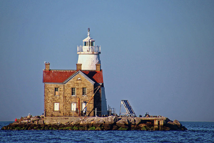 Lighthouse in the Sound by Doolittle Photography and Art