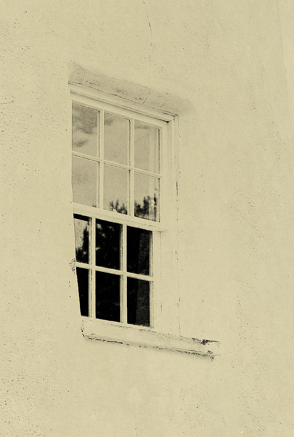Window Photograph - Lighthouse by JAMART Photography