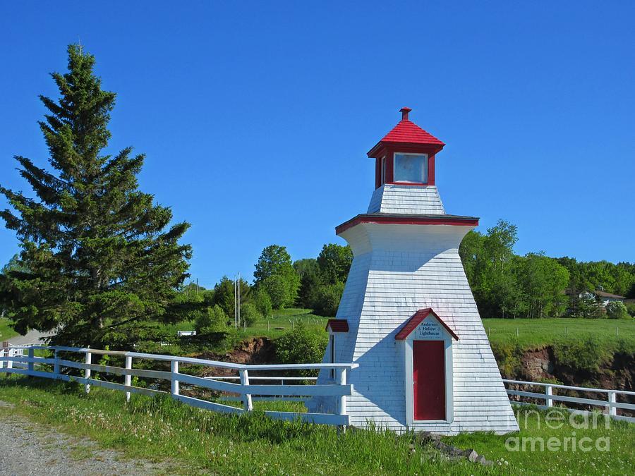 Lighthouse Landscape Two Photograph