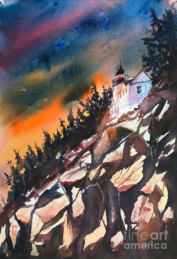 Lighthouse of Maine by George Jacob