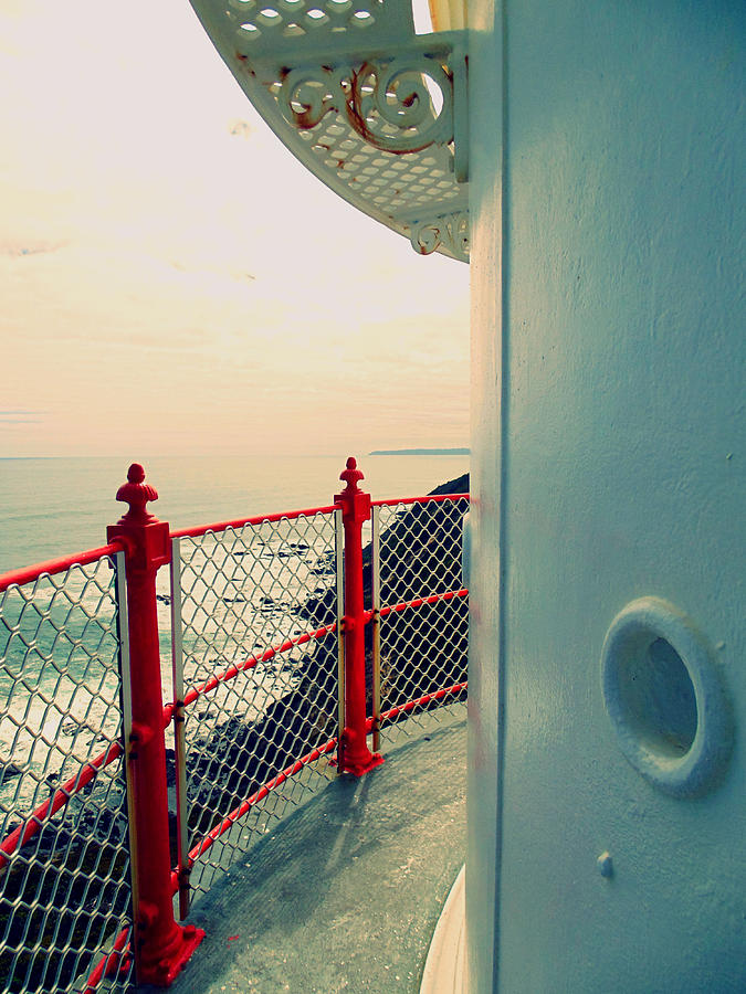 Seascape Photograph - Lighthouse View by Renee Thurgood