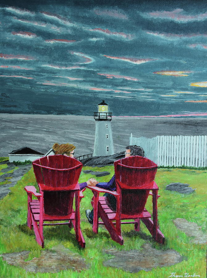 Lighthouse Lovers by Thom Barker