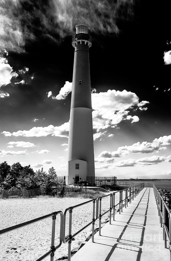 Lbi Photograph - Lighthouse Walk Long Beach Island by John Rizzuto