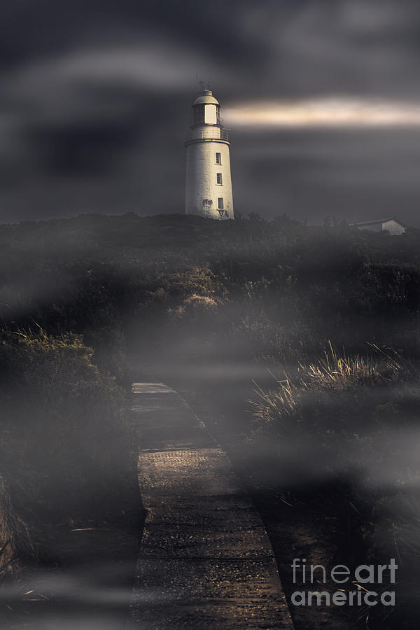 Lighthouse way by Jorgo Photography - Wall Art Gallery