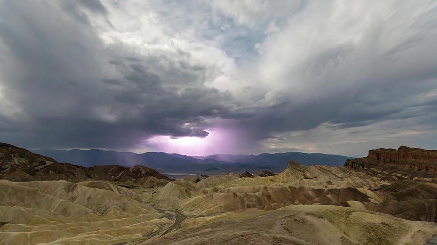 Lighting Over The Amargosa Range Photograph