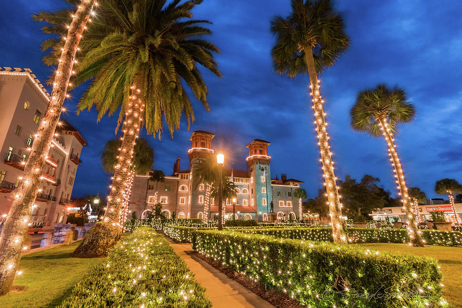Lightner Museum during Nights of Lights by Stacey Sather