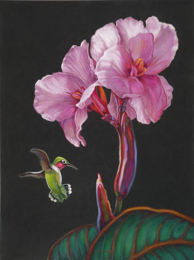 Bird Painting - Lightness Of Being by J Alex Potter