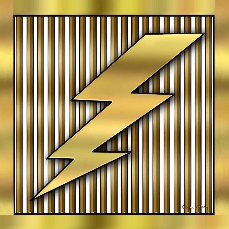 Lightning Bolt Digital Art - Lightning Bolt by Chuck Staley