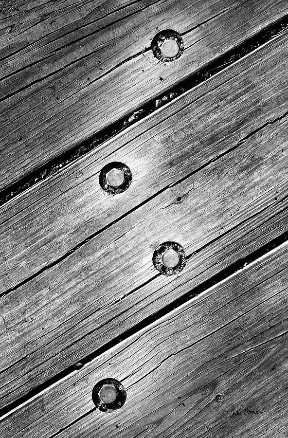 Wood Photograph - Lightning Bolt by Luke Moore