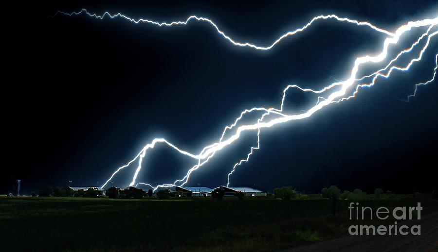 Lightning  by Frank Vargo