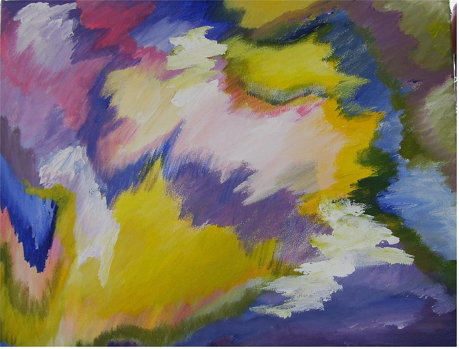 Abstract Print - Lightning by Janice Livingston