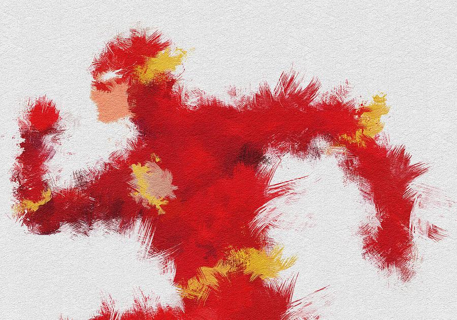 Flash Painting - Lightning Speed by Miranda Sether