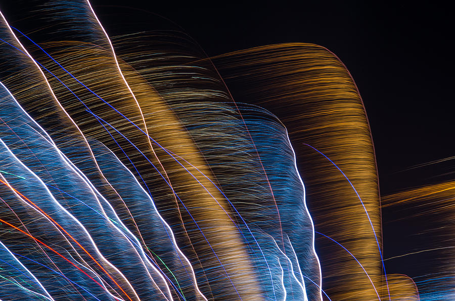 Lightpainting Photograph - Lightpainting II by Bob Marquis