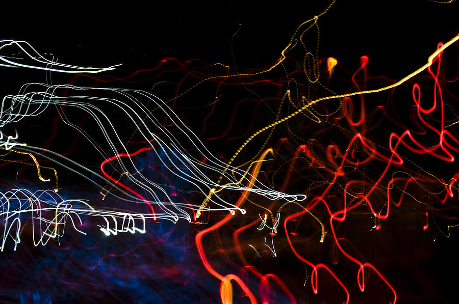 Abstract Photograph - Lights Abstract1 by Svetlana Sewell