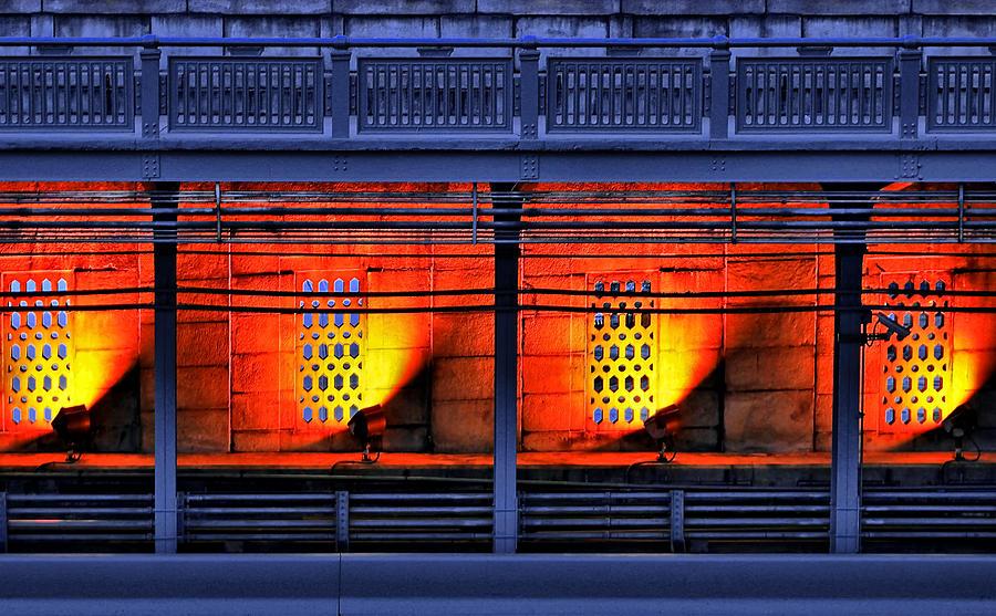 Abstract Photograph - Lights And Shadows by Evelina Kremsdorf
