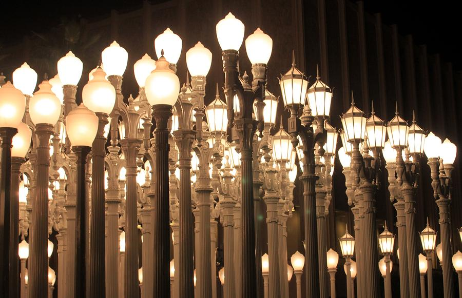 Lights Photograph At The Lacma La County Museum Of Art 0768 By Edward Ruth