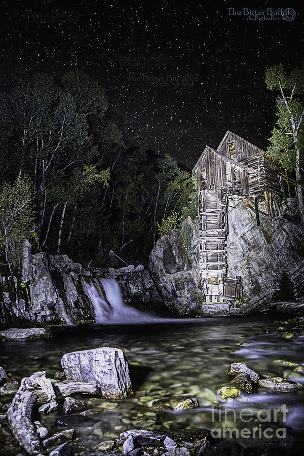 Lights on the Mill by Bitter Buffalo Photography