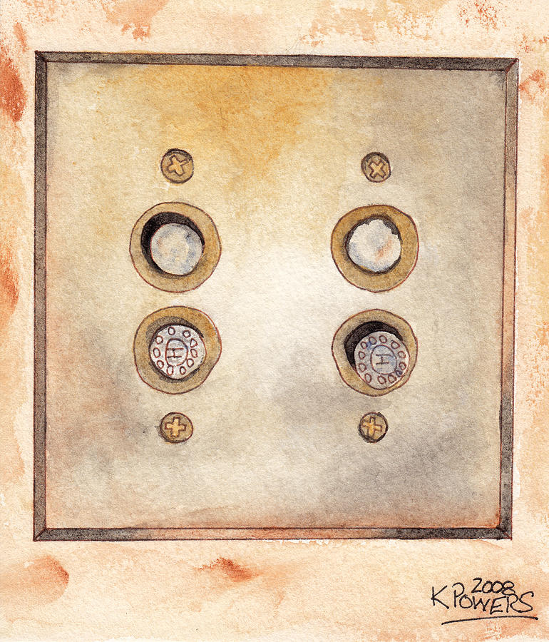 Lightswitch Painting - Lightswitch by Ken Powers