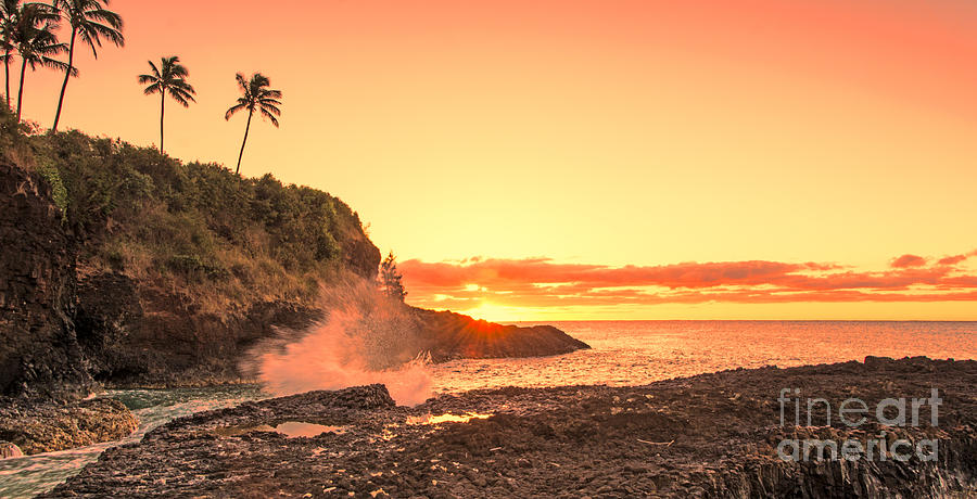 Lihu'e Sunrise by Gary Beeler