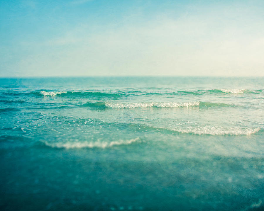 Ocean Photograph - Like A Dream by Violet Gray