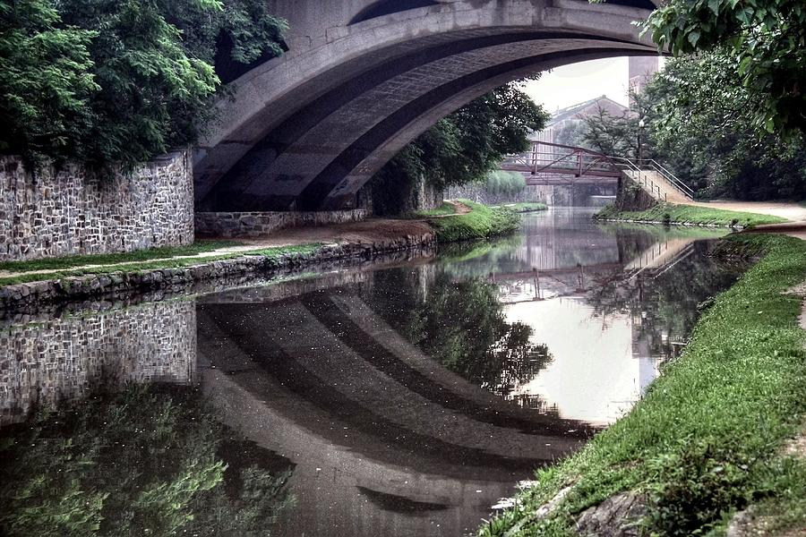 C&o Canal Photograph - Like A River by Mitch Cat