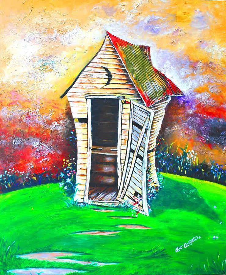 Lil Outhouse by Arthur Covington