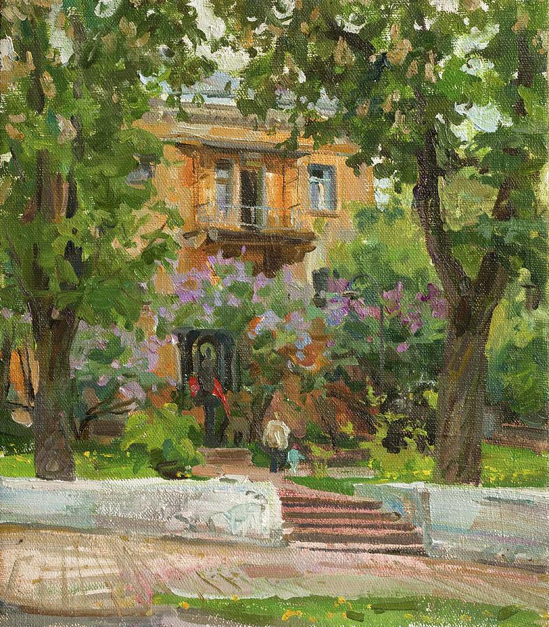 Lilac May Painting
