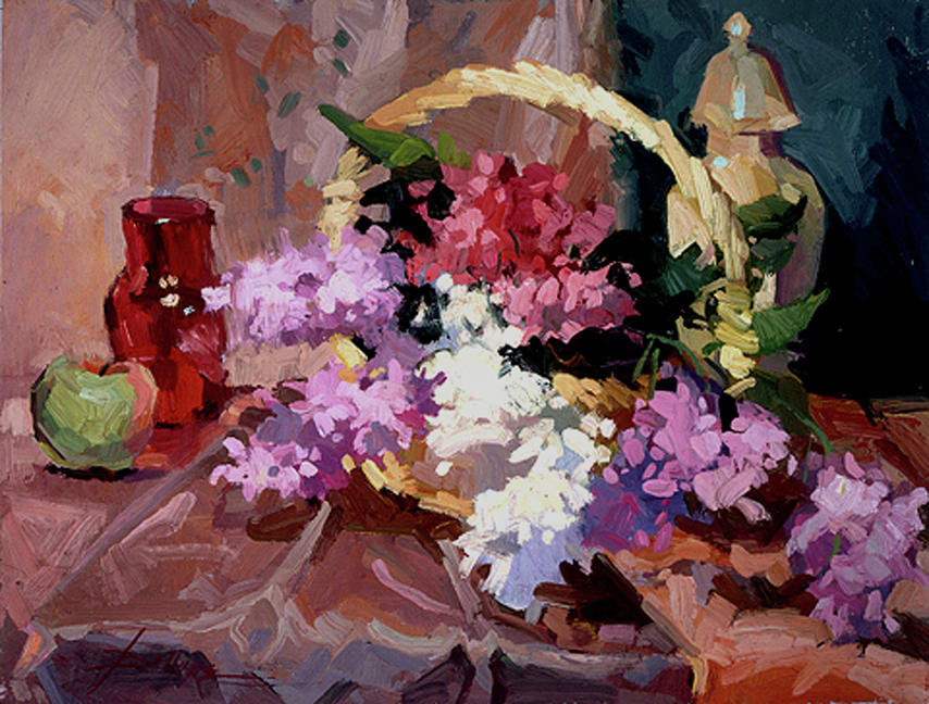 Lilacs by Betty Jean Billups