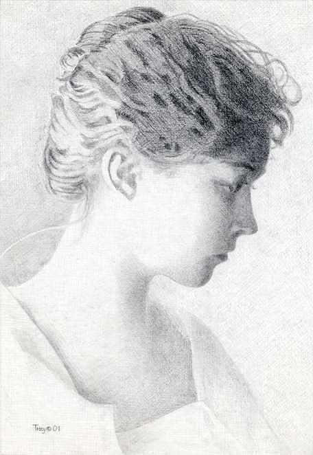 Lillian Gish Drawing - Lillian Gish by Robert Tracy