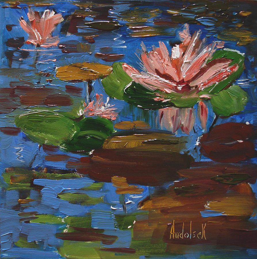 Impressionism Painting - Lily by Barbara Andolsek