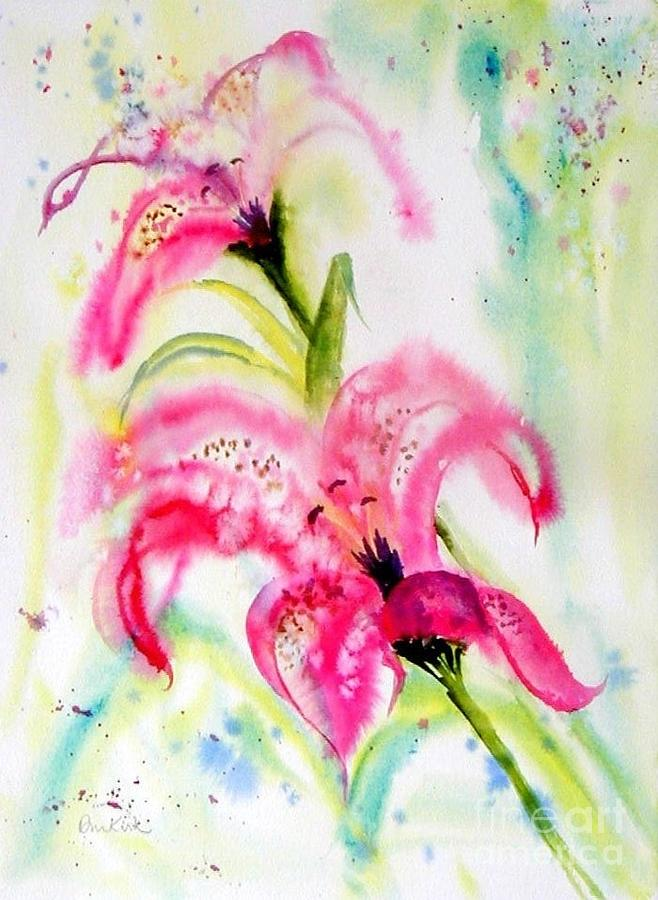 Lily Folly by Diane Kirk
