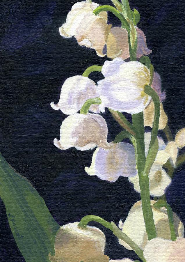 Flowers Painting - Lily Of The Valley by Lynne Reichhart