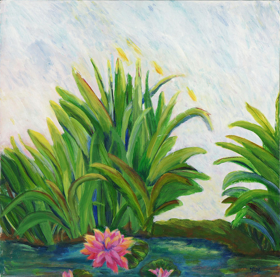 Lily On The Pond by Marilyn Rodriguez