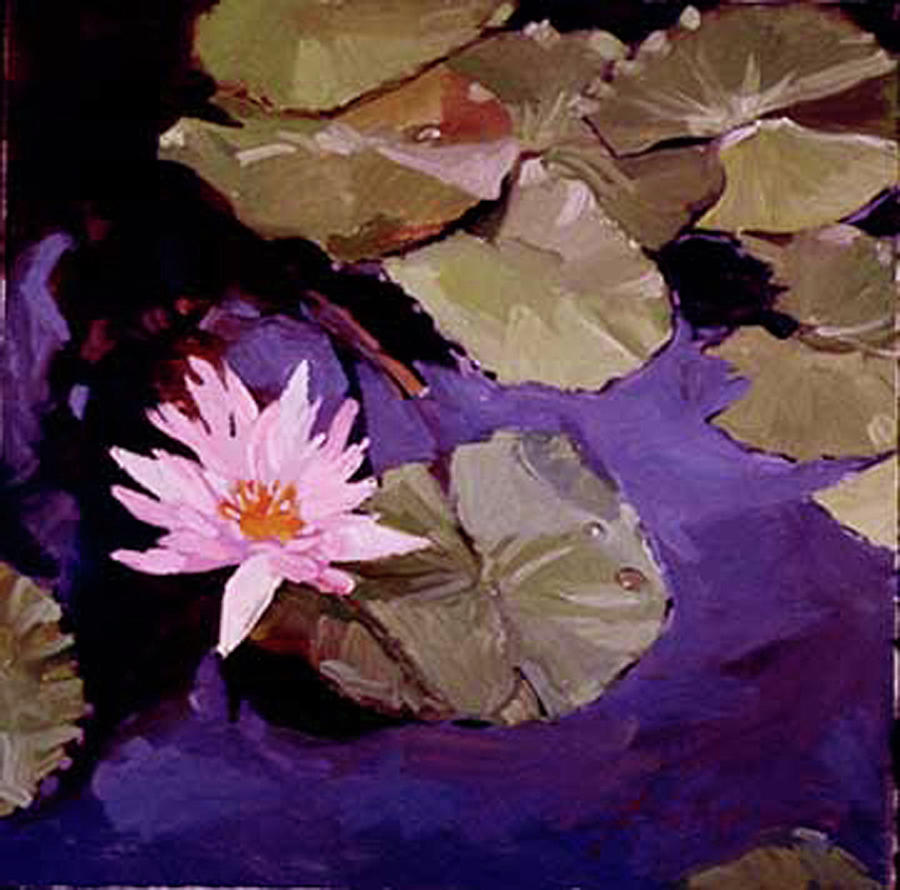 Lily Pad Painting by Betty Jean Billups