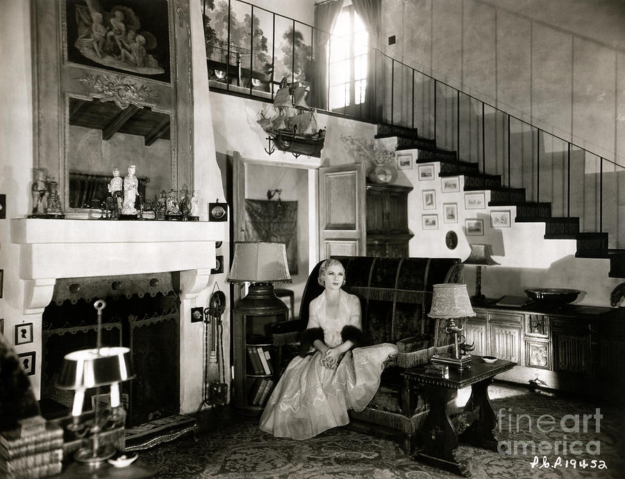 Hedonism Photograph - Lilyan Tashman Beverly Hills Home by Sad Hill - Bizarre Los Angeles Archive