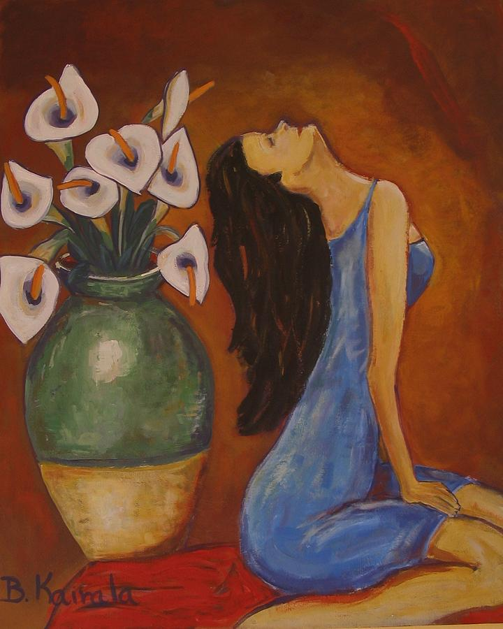 Lilys Painting - Lilys Woman by William Kairala