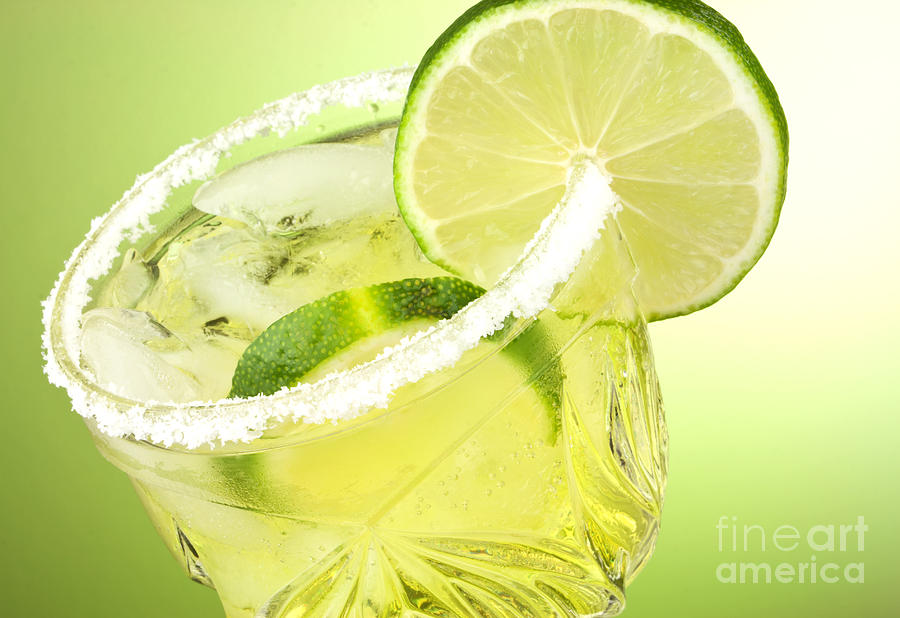 Lime Photograph - Lime Cocktail Drink by Blink Images