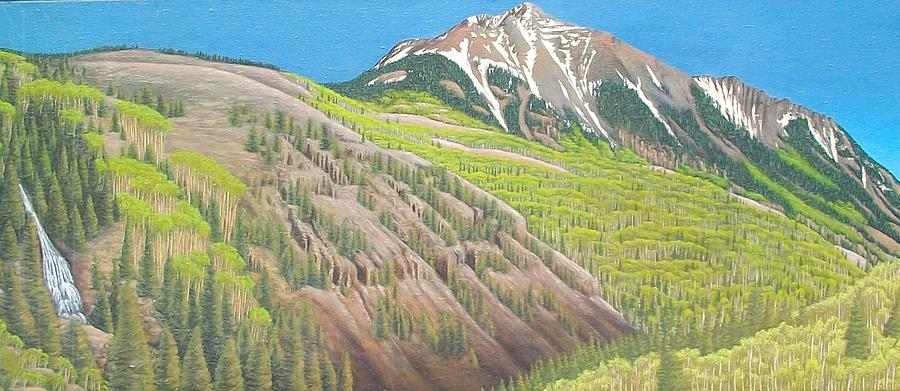 Lime Creek Canyon Painting by Philipp Merillat