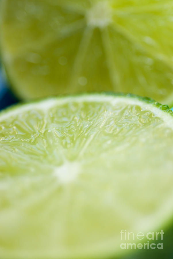 Blur Photograph - Lime Cut by Ray Laskowitz - Printscapes