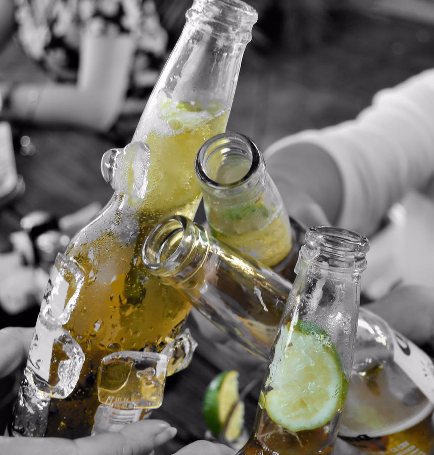 Beer Photograph - Lime Joy by JAMART Photography