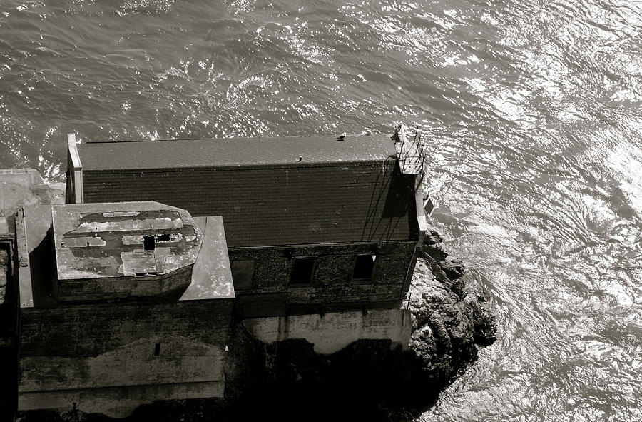 Lighthouse Photograph - Lime Point Lighthouse by Sonja Anderson