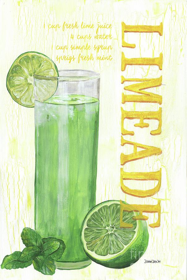 Lime Painting - Limeade by Debbie DeWitt