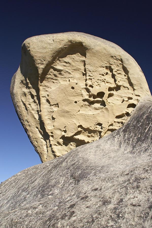 Limestone Photograph - Limestone Rock Formation by Geoff Bryant