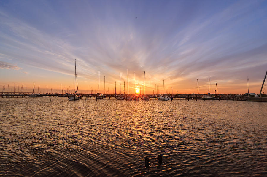 Beauty Photograph - Limhamn Marina by Marcus Karlsson Sall