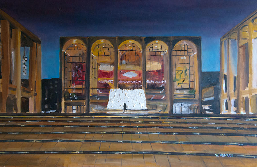 New York City Painting - Lincoln Center by Wayne Pearce