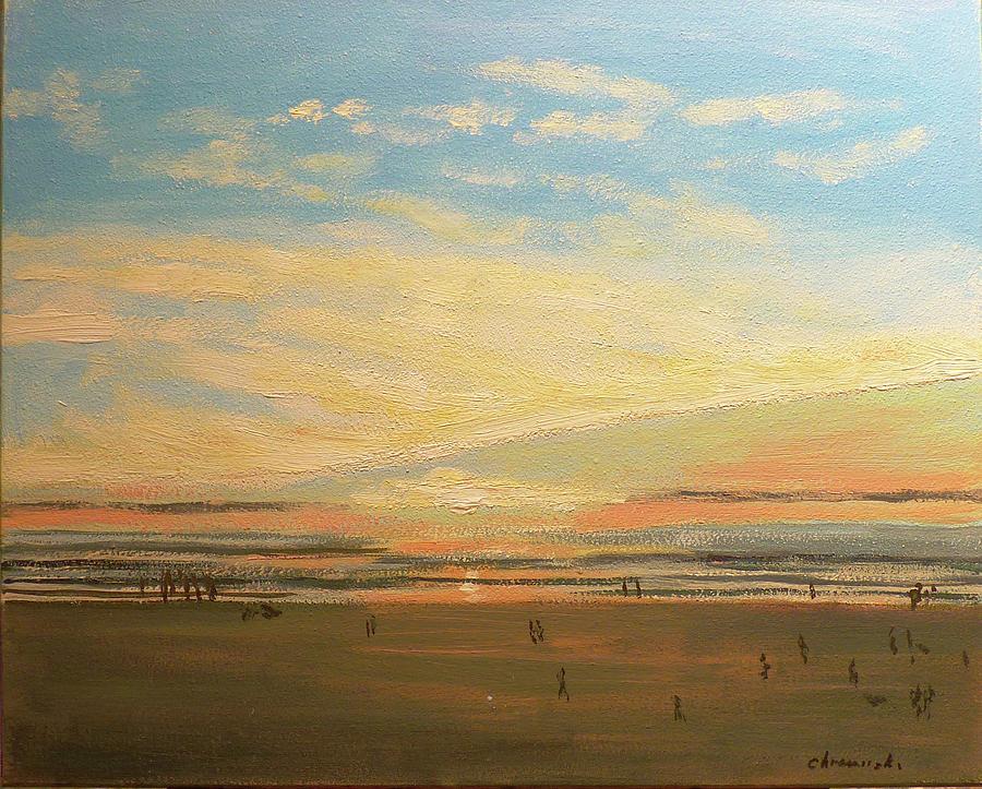 Lincoln City Sunset by Stan Chraminski