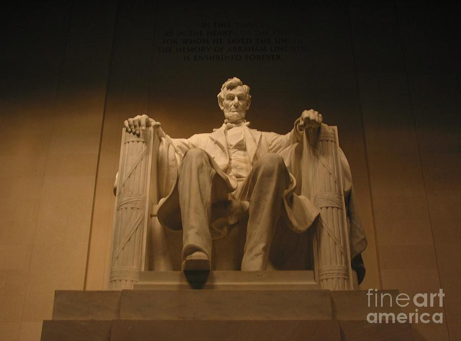 Abraham Lincoln Photograph - Lincoln Memorial by Brian McDunn